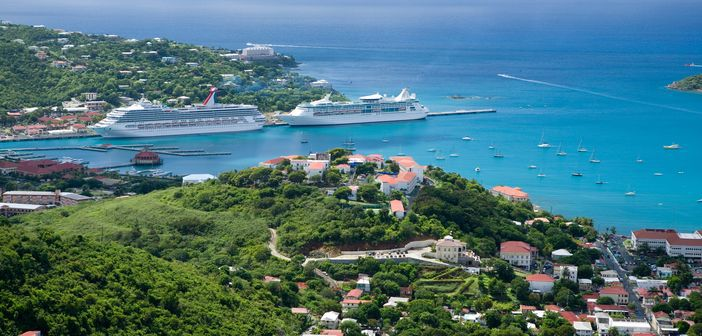 Popular cruise destinations