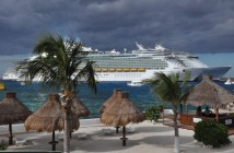 Royal Caribbean ships docked in Mexico