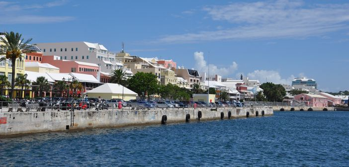 Port and downtown- View of Hamilton, Bermuda