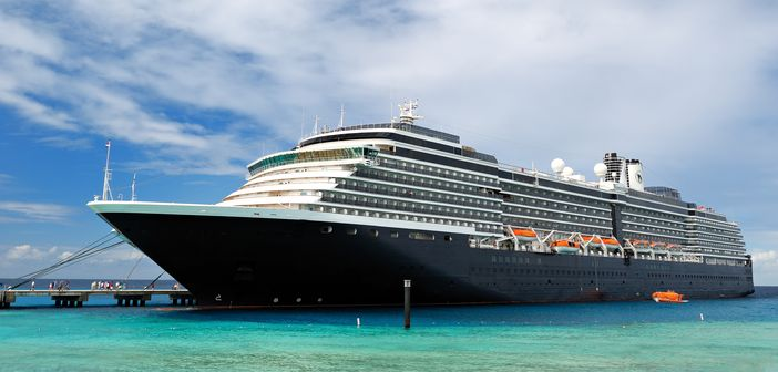 Holland America cruise ship docked