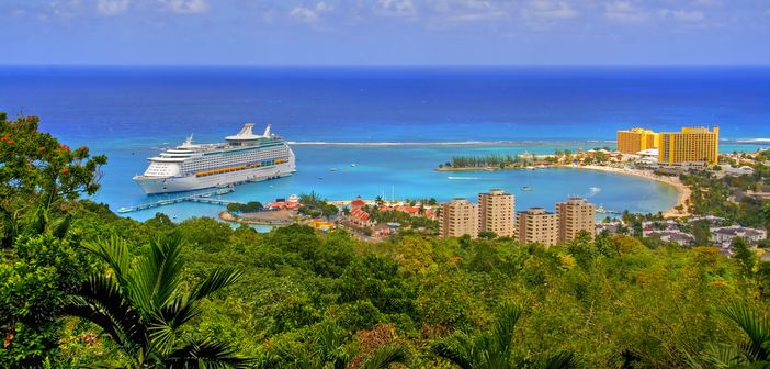 Exotic destination of cruise vacations
