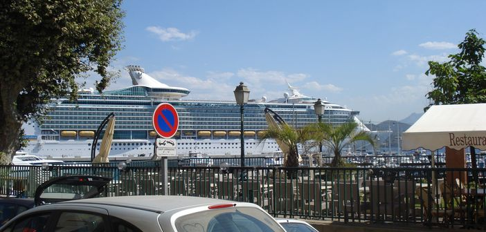 Ajaccio cruise port, Corsica, France