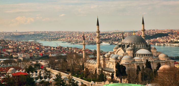 Cruise to Istanbul and visit Suleiman Mosque