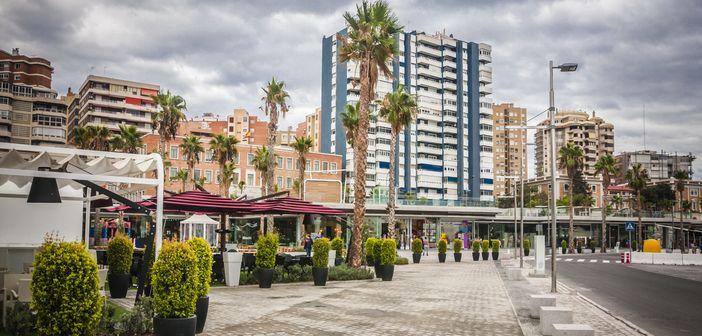 Malaga harbor
