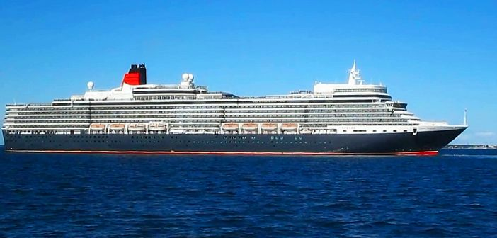 The Queen Elizabeth cruise ship
