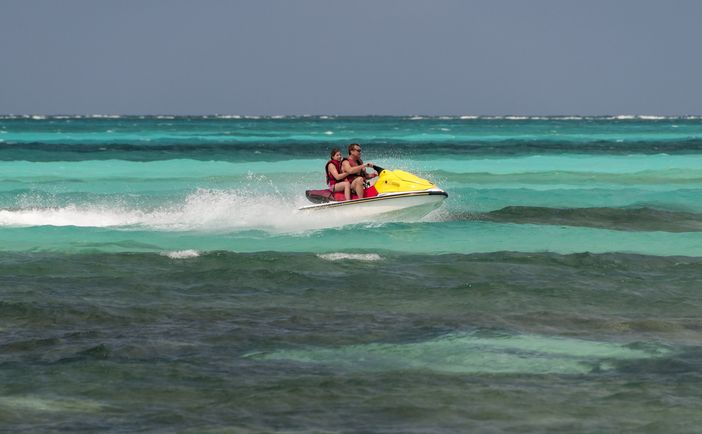 Things to do in CocoCay: Jet Skiing
