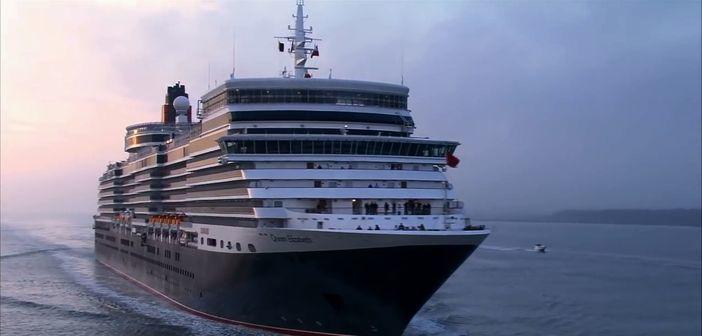 The Queen Elizabeth cruise ship