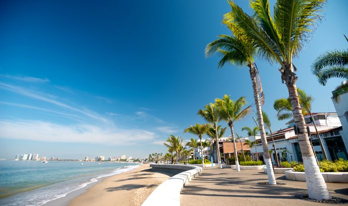 Fun things to do in Puerto Vallarta - Walk along the promenade