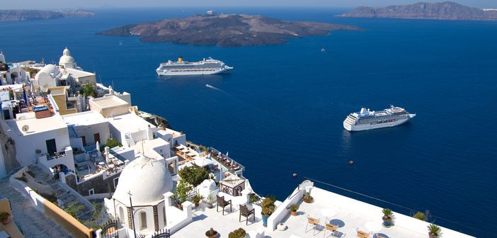 Cruise To Santorini Feel The True Charm Of The Mediterranean Cruise Panorama