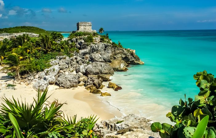 God of Winds Temple in Tulum, Mexico