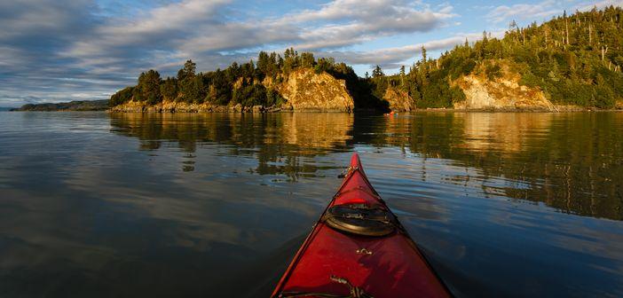 Kayak paddling Alaska tours