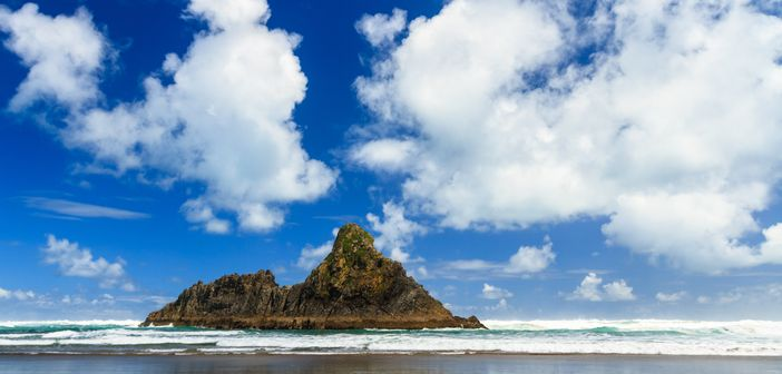 West Auckland's Karekare located in New Zealand is often referred to as one of the top 10 beach destinations in the world