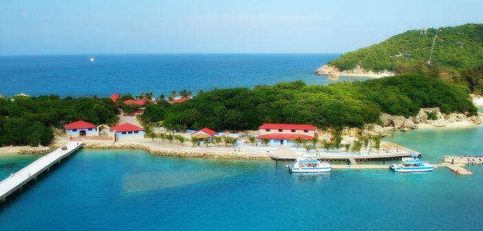 View of Labadee, Haiti
