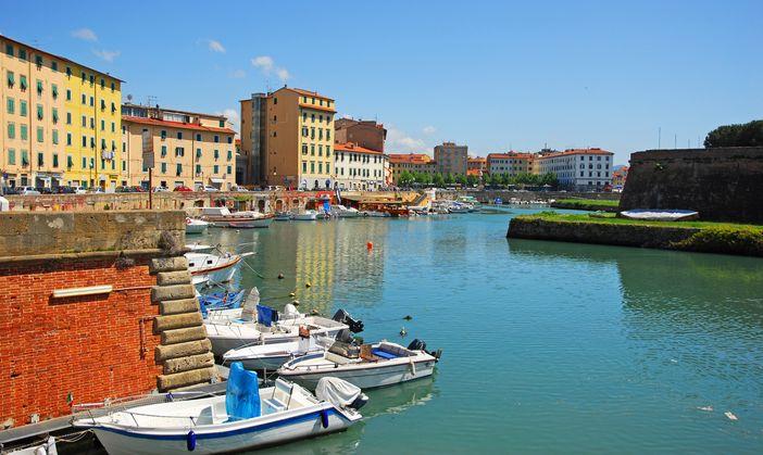 Livorno's New Venice district