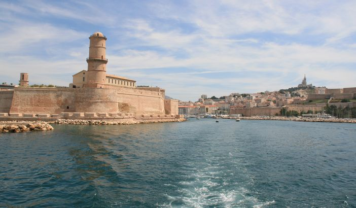 famous historical monuments in Europe: The fortification, Fort Saint Jean, was built by Louis XIV in 1660