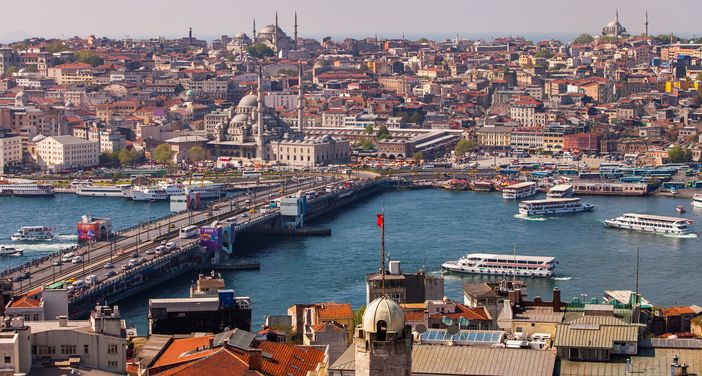 The picturesque Istanbul