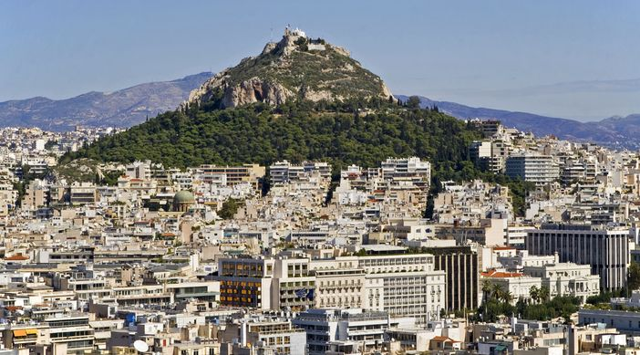 Cruises to Greece and Athens attractions: Mount Lycabettus