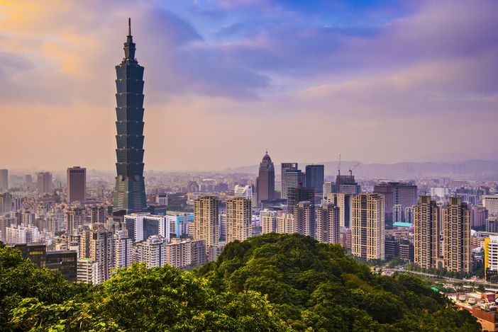 Destinations to go: Taipei, Taiwan