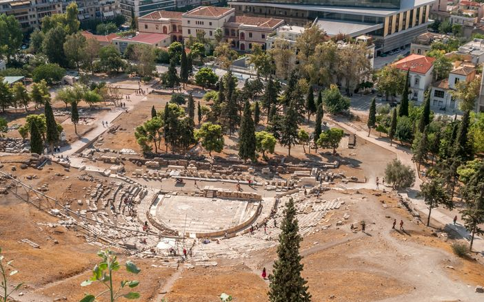 Top attractions in Athens: Ruins of the Theatre of Dionysus Eleuthereus