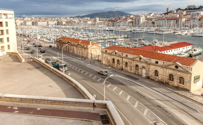 European Cruises from Barcelona,: Beautiful view of the old harbor in Marseille