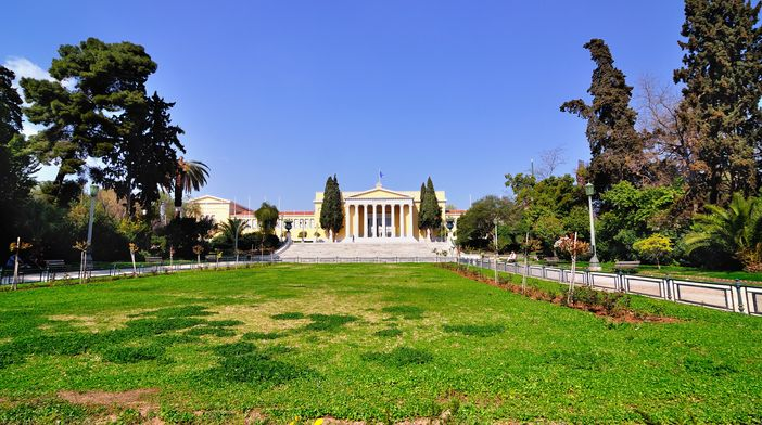 Top attractions in Athens: Zappeion in the National Gardens of Athens