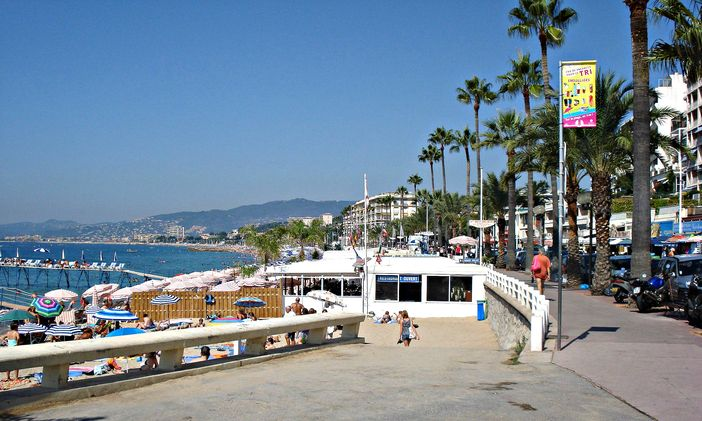 Cote d'Azur attractions: Cannes beach