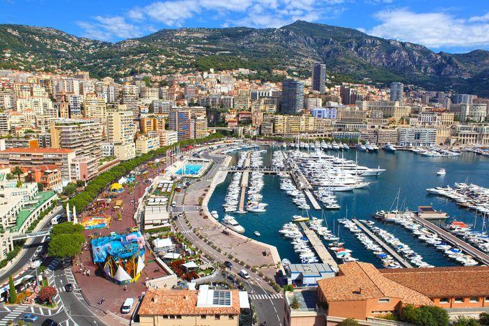 Cote d'Azur attractions: Monte Carlo, Monaco