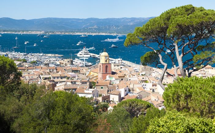 Saint Tropez in the French Riviera