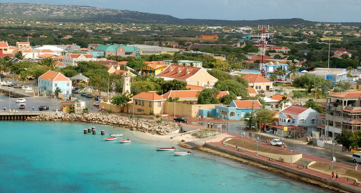 The most beautiful honeymoon destinations: Oranjestad, Aruba