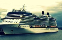 Solstice ship in Seattle: Celebrity Cruises to Alaska