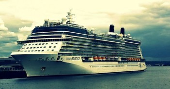Solstice ship in Seattle: Celebrity Cruises to Alaska 2015