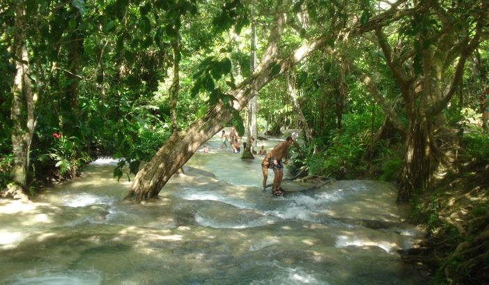 Climbing Dunn's River Falls in Ocho Rios - Royal Caribbean cruise tours in Jamaica