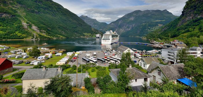 Cruising in Norway
