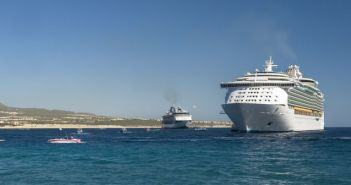 Royal Caribbean and Holland America ships visiting Cabo San Lucas