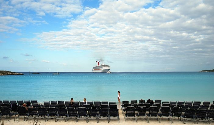 Bahamas, as one of the top rated cruise destinations