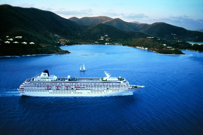Crystal Symphony in the Caribbean