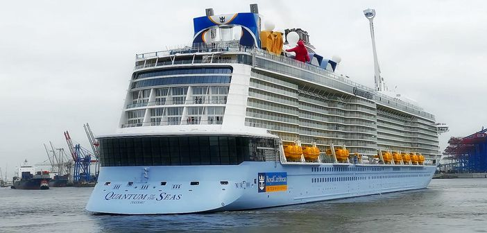 The newest ship of Royal Caribbean
