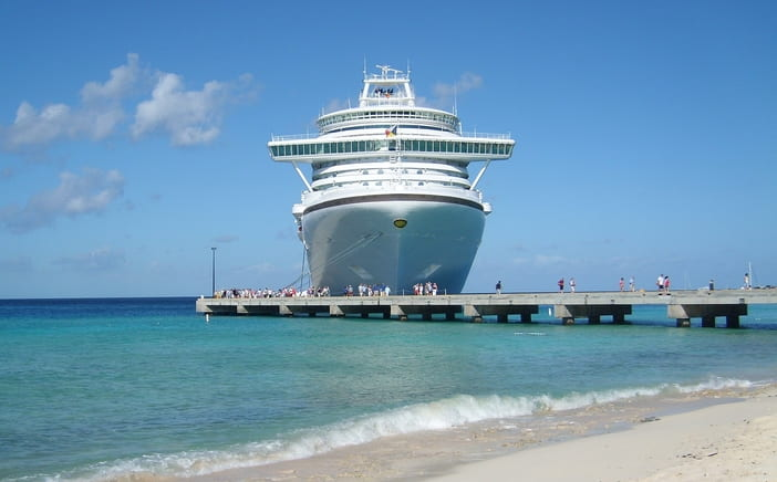 Caribbean cruise port
