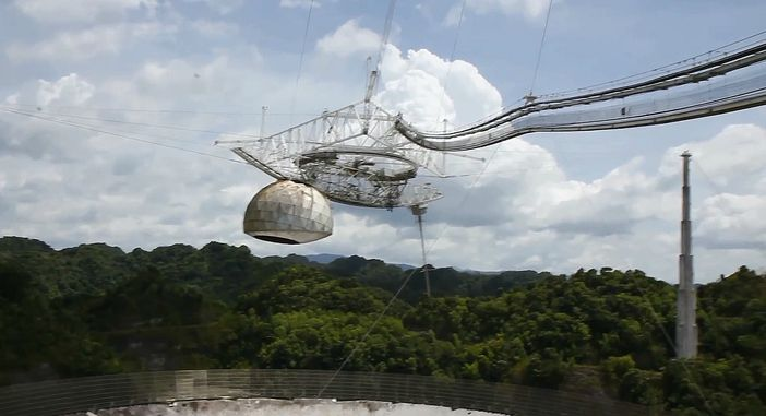 Arecibo Observatory, as one of the top 10 things to do in San Juan, Puerto Rico