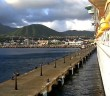 Independence of the Seas leaving Basseterre, St. Kitts
