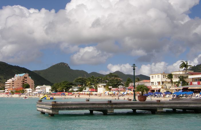 Philipsburg, St. Maarten, Caribbean Islands
