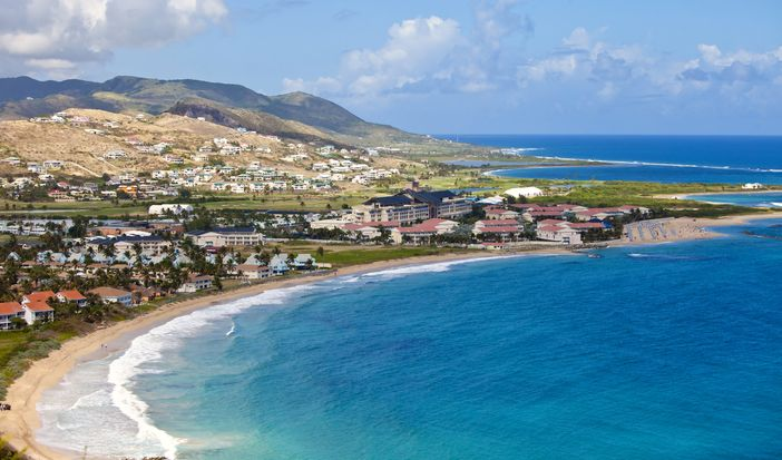 St. Kitts coastline