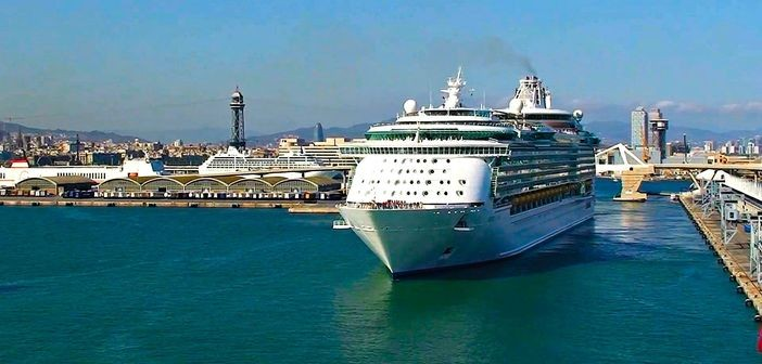 Royal Caribbean ship leaving from Barcelona