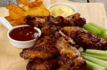 Chicken Legs and Wings Barbecue