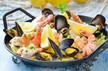 Delicious Spanish Seafood Paella