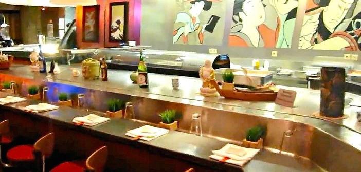 Norwegian Star's Ginza restaurant