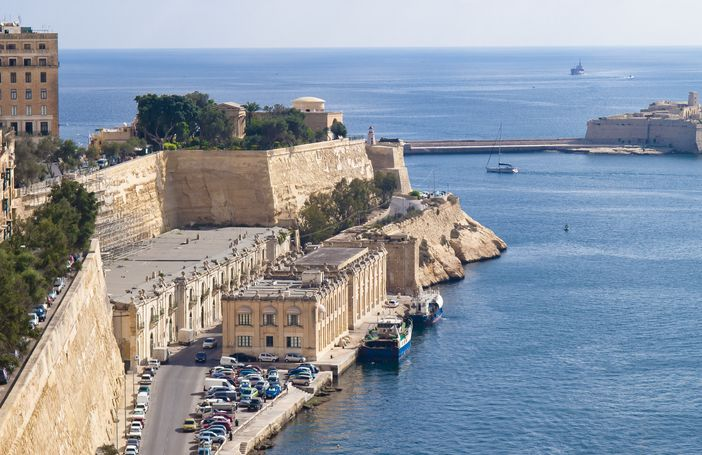 cruise to malta and take pleasure in the view of valletta