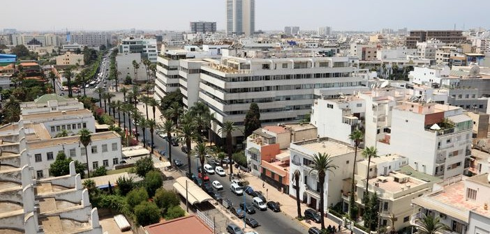 View over Casablanca