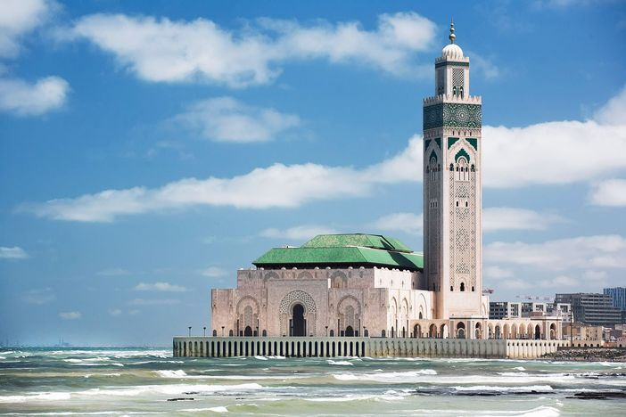 Cruise to Casablanca and visit monuments like the Hassan II Mosque