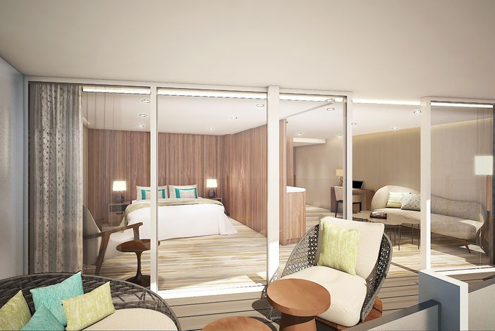 Royal Suite rendering